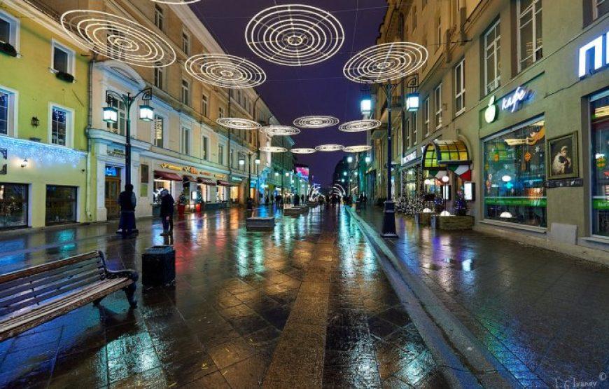 Kamergerskiy per. at night