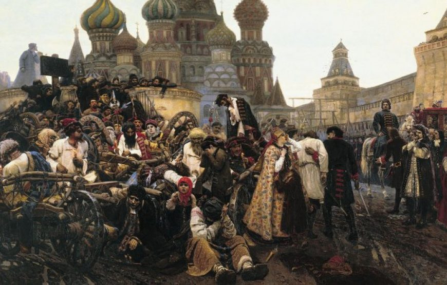 Morning of Streltsy Execution, Surikov