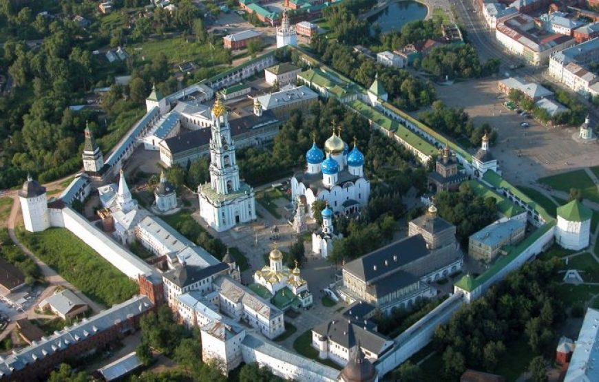 Sergiev Posad Trinity Monastery, Aerial View