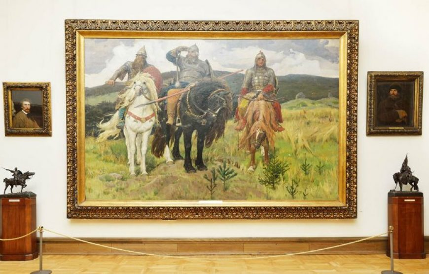 Three Bohatyrs, Vasnetsov
