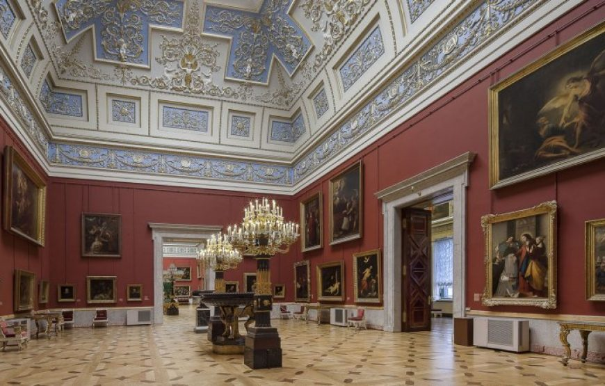 Masterpieces of classic art of various styles exhibitioned in State Hermitage