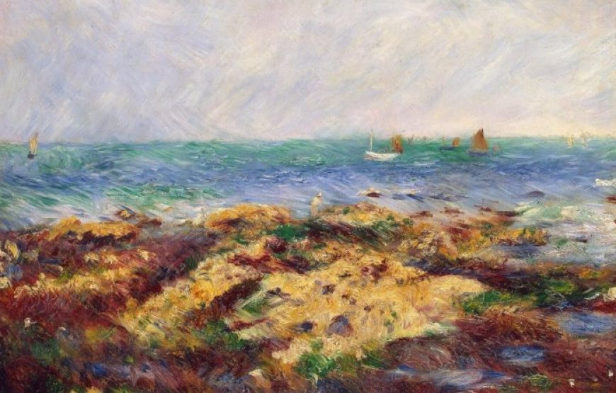 Low Tide in the Sea by Renoir