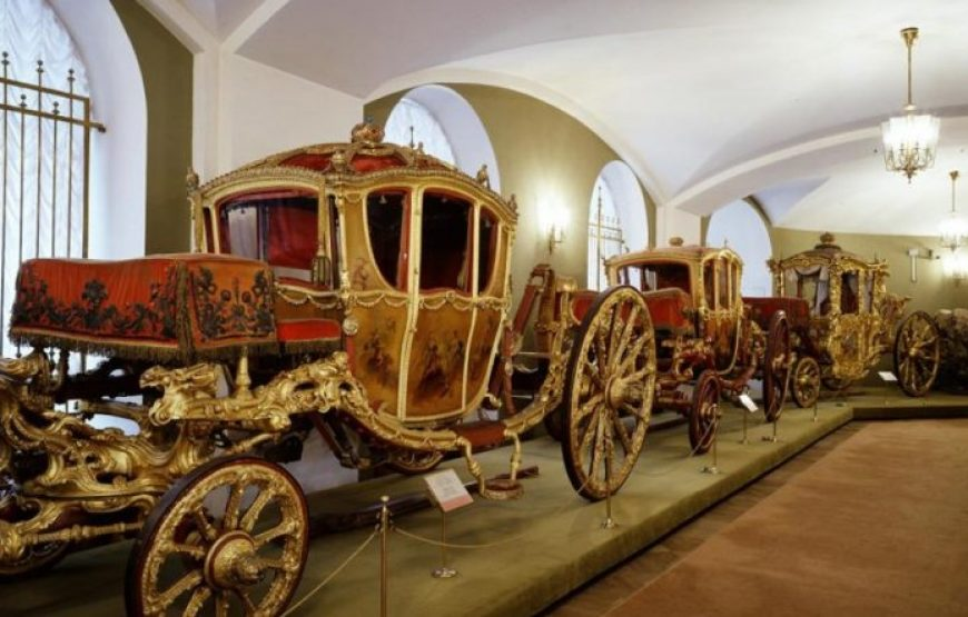 Empress Coach Exhibited at Armory Museum