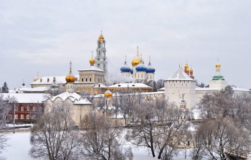 Trinity Lavra at Sergiev Posad, General View