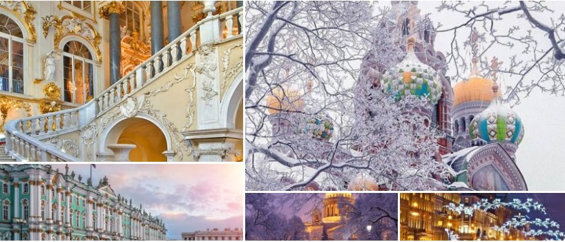 Day 5. The Hermitage and main sights in St. Petersburg