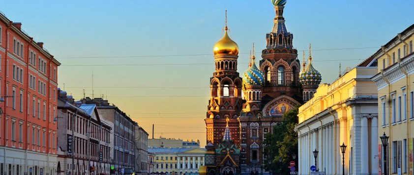 Day 1 – Arrival in St. Petersburg