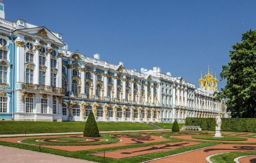 The Catherine Palace in all its glory