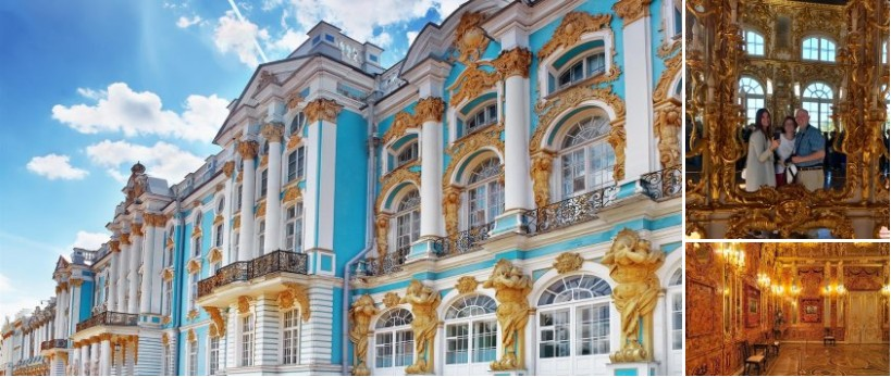 Day 3 – Catherine Palace and Amber Room Tour