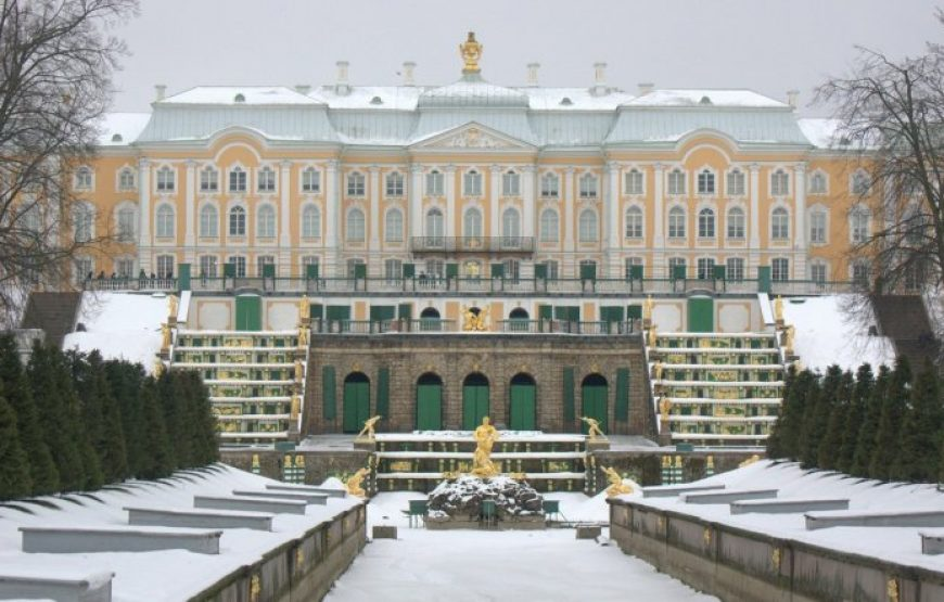 Peterhof Palace in Winter