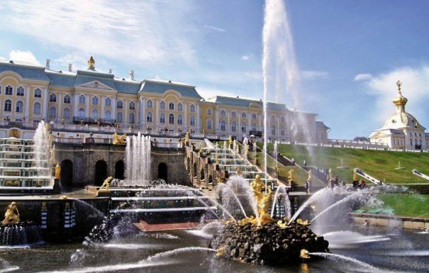 Peterhof Palace and Main Cascade