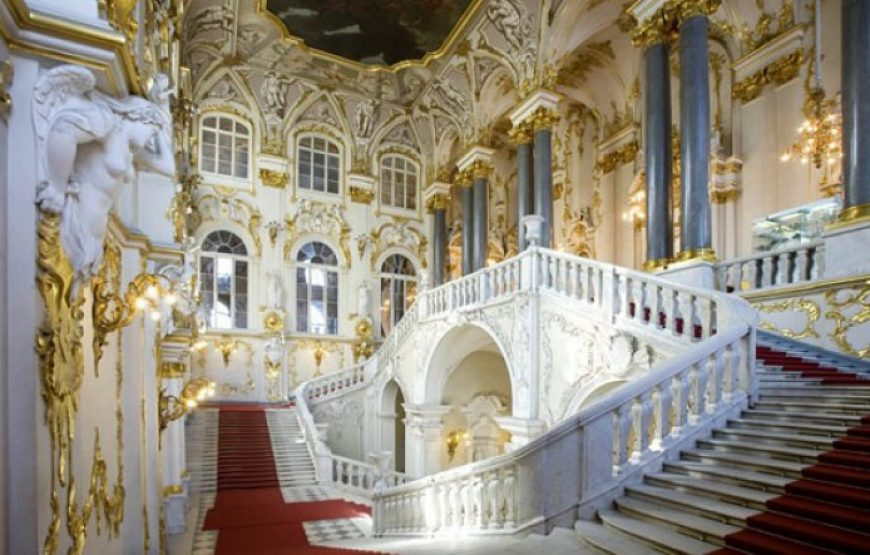 Main Staircase, Hermitage