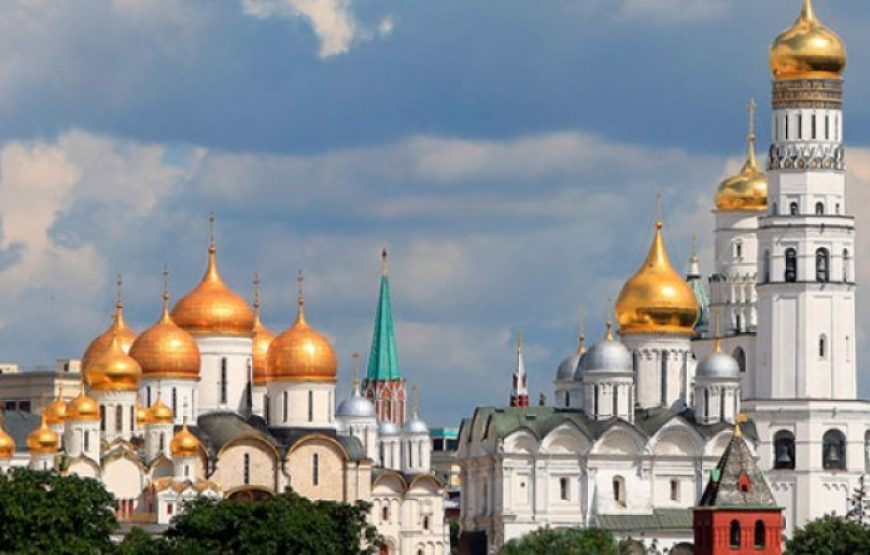 The Kremlin Grounds and Cathedrals