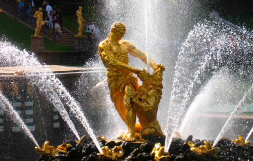 Samson Fountain, Peterhof
