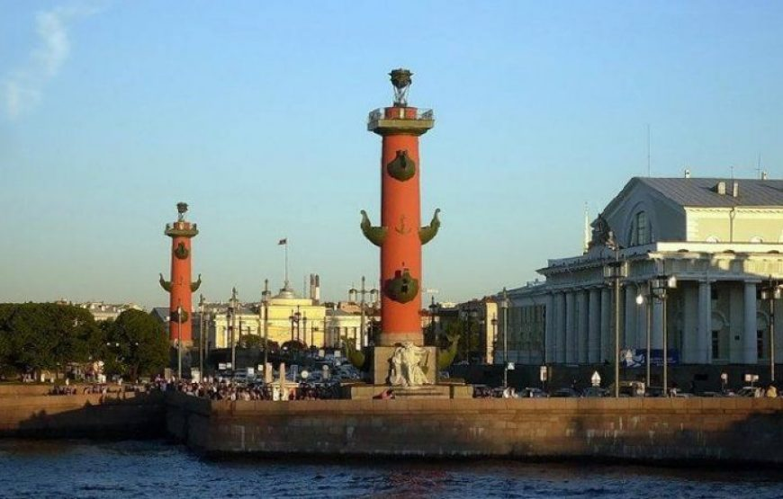 The Strelka of Vasilievskiy Island and the Admiralty Building