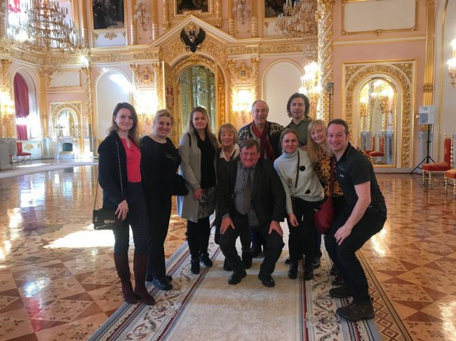 The The Great Kremlin Palace tour on 12 March 2018