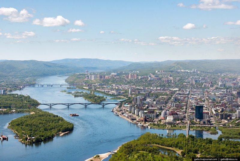 Siberia city