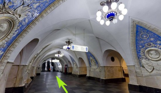 Taganskaya Station and the way to Bunker 42