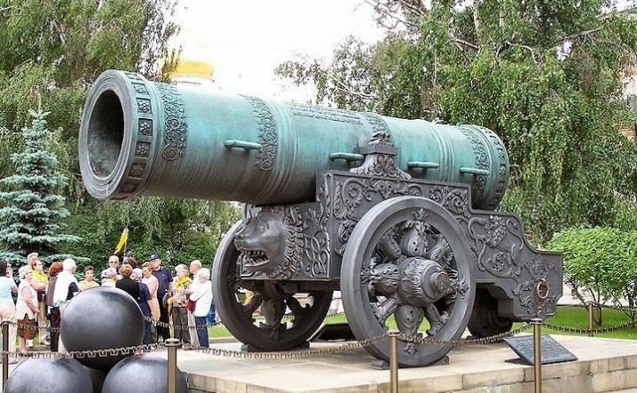 Moscow Kremlin Cannon
