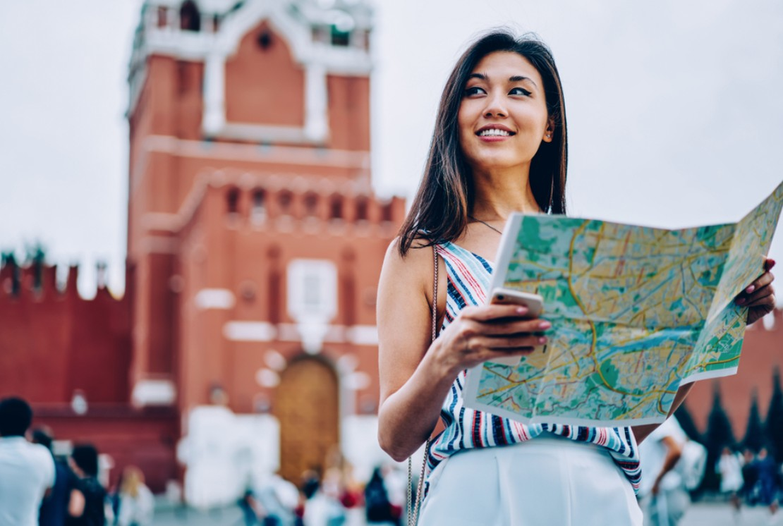 Solo traveller in Moscow